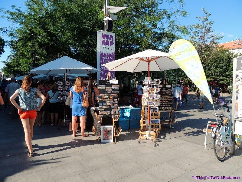 Budapest Wamp Design Market in City Center