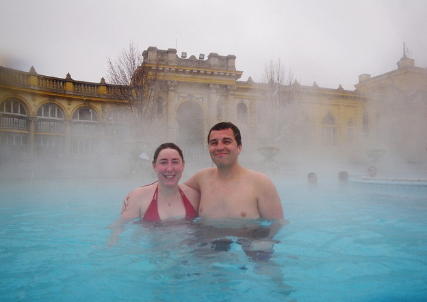 Fun things to do Budapest at Szechenyi Baths