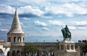 Fisherman's Bastion & King St Stephen Statue Budapest