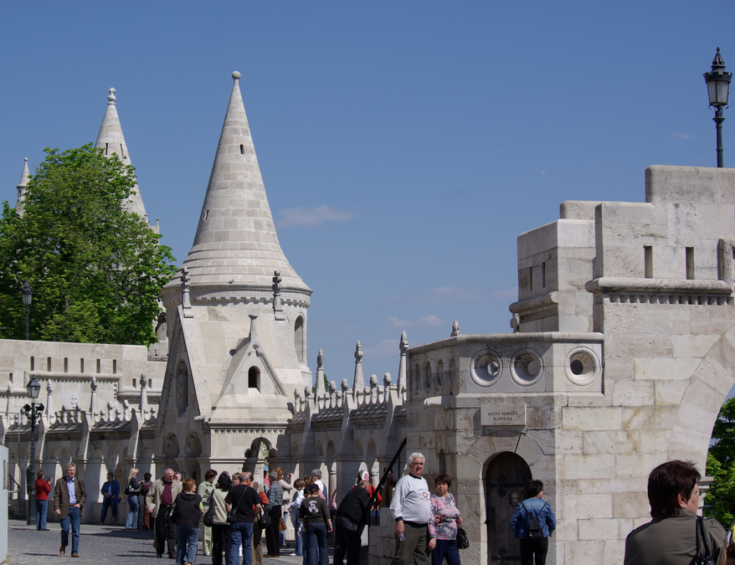 Fishermans Bastion Budapest Hungary