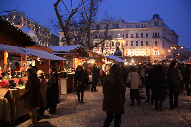 Budapest Christmas Market Winter Things to Do