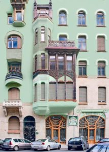Hungarian House of Art Nouveau Budapest