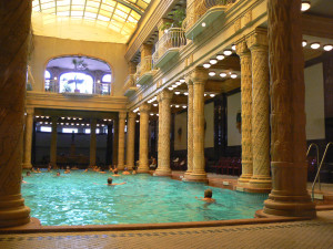 Hot Spring Gellert Spa Baths