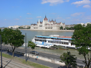 Budapest Parliament by Danube
