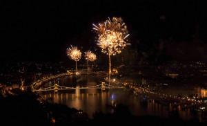 Budapest Fireworks August 20