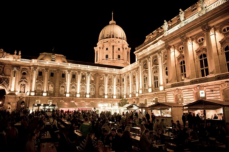 Buda Castle Festivals at Night One Day