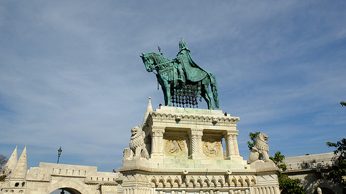 Buda Castle St Stephen Statue One Day Budapest