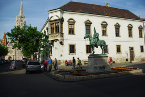 Budapest Hadik Hussar Statue Buda Castle One Day