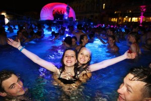 Budapest Szechenyi Baths Spa Party