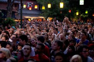 Concerts in Durer Kert Budapest Garden Ruin Bar