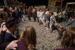 Dancing in Buda Castle Wine Festival Budapest