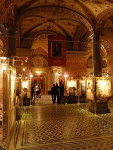 Inside Opera House Budapest