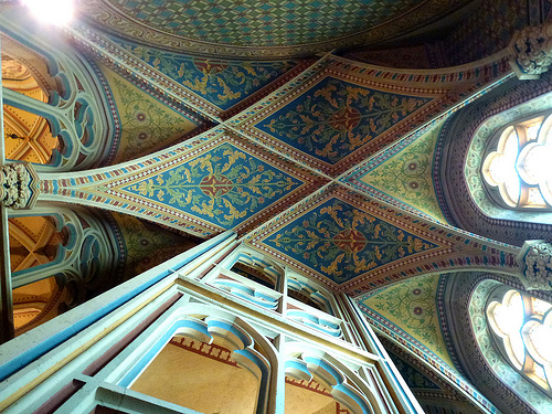 Matthias Church Ceiling Buda Castle One Day Budapest