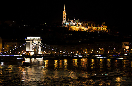 Matthias Church Night Buda Castle One Day Budapest