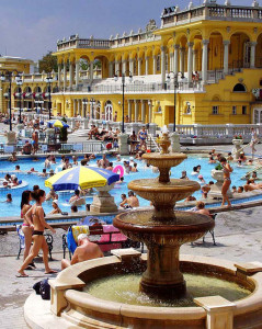 Szechenyi Bath One Day Spa in Budapest