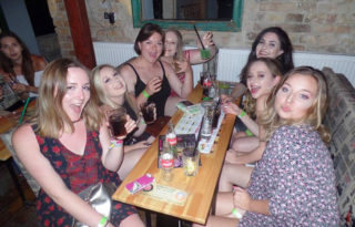Budapest Pub Crawl Hen Party
